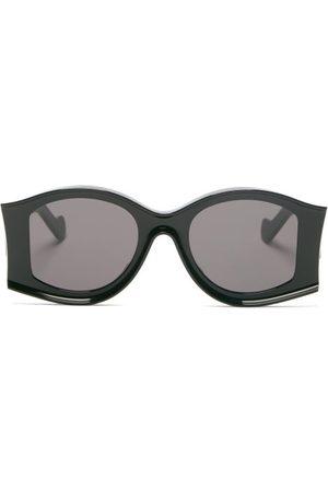 Loewe Paula's Ibiza Oversized Round Acetate Sunglasses - Womens