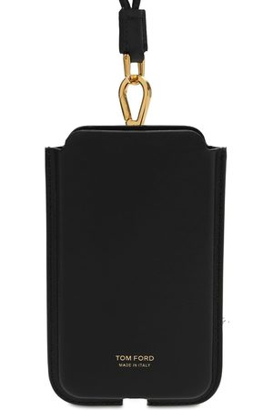 Tom Ford Men Phones Cases - Logo Phone Cover W/neck Strap