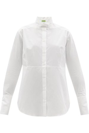 GAUGE81 Women Casual Dresses - Veria Wingtip-collar Organic-cotton Shirt Dress - Womens