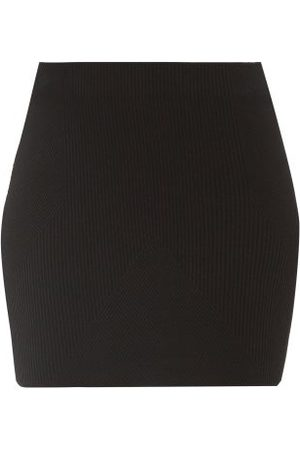 GAUGE81 Women Mini Skirts - Fasnia Ribbed Stretch-knit Mini Skirt - Womens