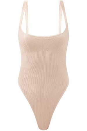 GAUGE81 Arona Ribbed Stretch-knit Bodysuit - Womens