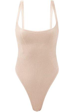 GAUGE81 Women Bodies - Arona Ribbed Stretch-knit Bodysuit - Womens