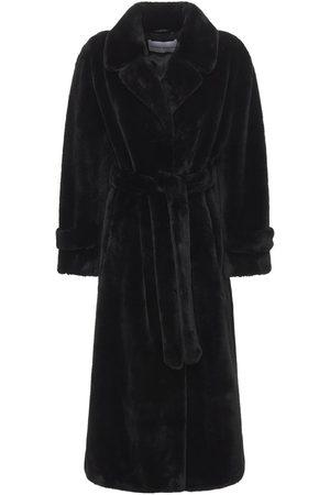 Stand Studio Women Coats - Paula Velvety Faux Fur Coat