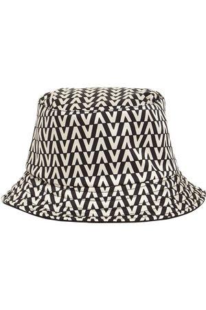 VALENTINO GARAVANI Vlogo Signature Printed Twill Bucket Hat