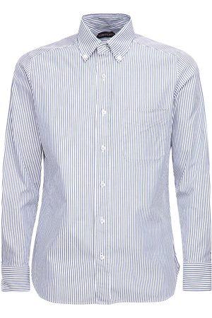 Tom Ford Men Shirts - Striped Cotton Shirt