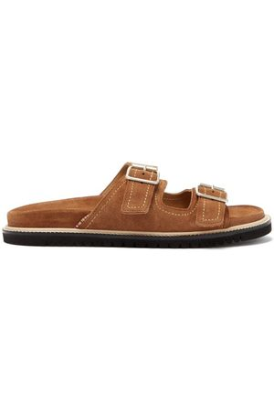 Paul Smith Men Sandals - Phoenix Suede Slides - Mens