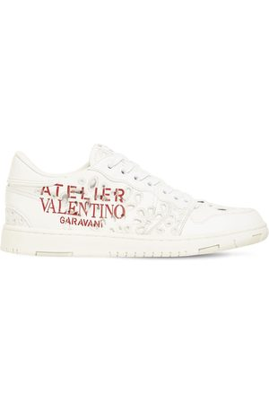 VALENTINO GARAVANI 20mm Atelier Leather Sneakers