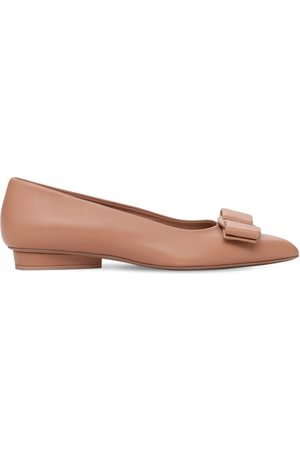 Salvatore Ferragamo Women Ballerinas - 20mm Viva Leather Flats