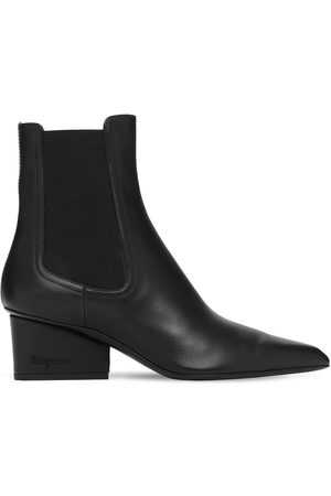 Salvatore Ferragamo Women Ankle Boots - 55mm Velta Leather Ankle Boots