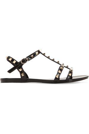 VALENTINO GARAVANI Women Sandals - 10mm Rockstud Pvc Sandals