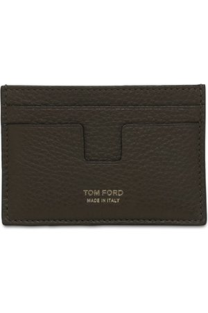 Tom Ford T Line Classic Leather Card Holder