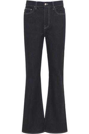 AMIRI Rigid Cotton Denim Flared Jeans
