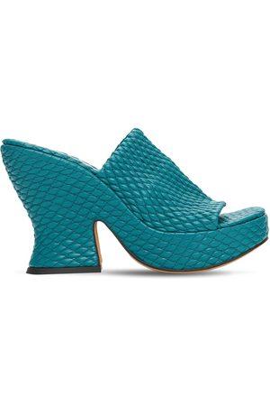 Bottega Veneta 115mm Quilted Leather Sandals