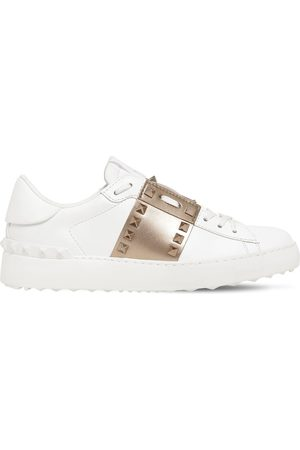 VALENTINO GARAVANI 20mm Untitled Leather Sneakers