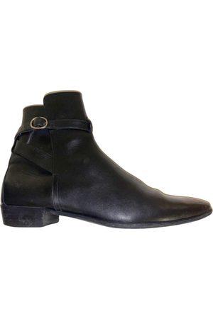 Céline \N Leather Boots for Men