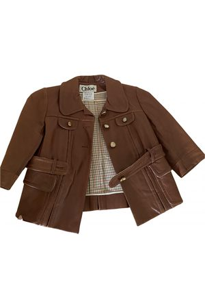 Chloé \N Leather Jacket for Women