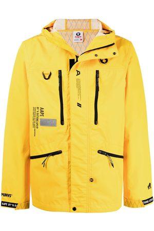 AAPE BY A BATHING APE Men Sports Jackets - Zip-front hooded jacket