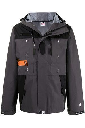 AAPE BY A BATHING APE Men Jackets - Zip-up hooded jacket