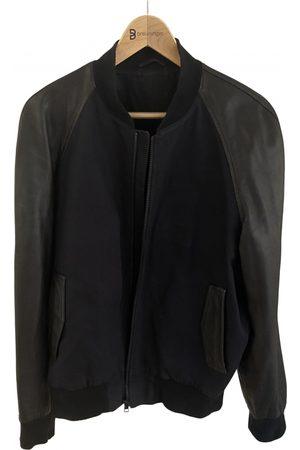 Ami \N Leather Jacket for Men