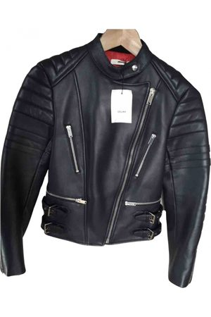 Céline \N Leather Leather Jacket for Women