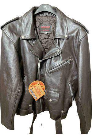 Bomboogie \N Leather Jacket for Men