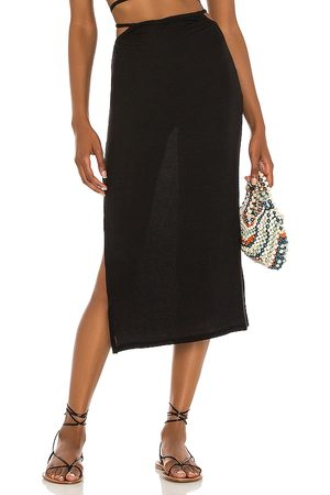 WeWoreWhat Cutout Midi Skirt in .