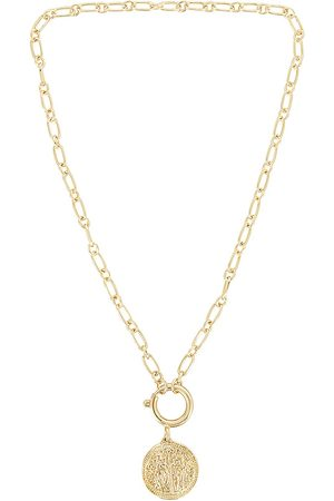 8 Other Reasons Spring Ring Necklace in Metallic .