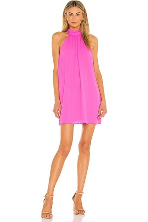krisa Tie Back Halter Dress in Pink.