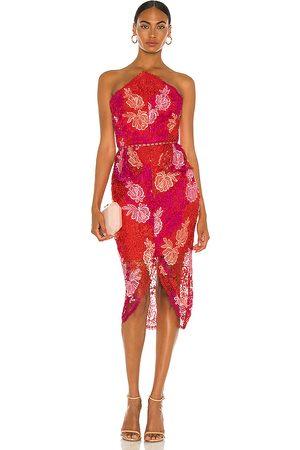ELLIATT X REVOLVE Times Dress in Fuchsia.