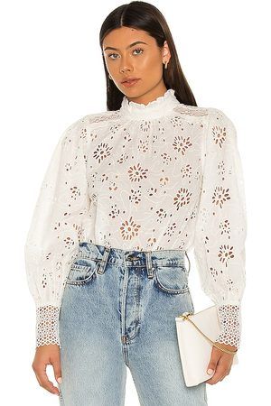 AllSaints Annasia Broderie Top in .