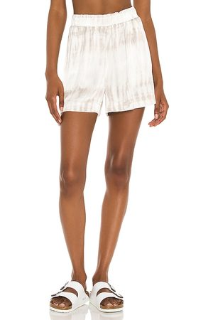 Rails Leighton Short in Ivory,Light Grey.