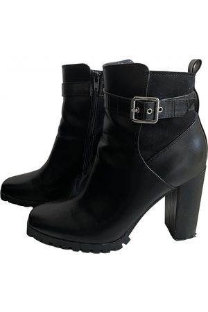 Just Fab \N Leather Ankle boots for Women