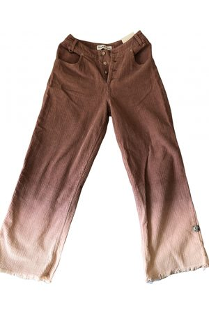 House of Sunny \N Cotton Trousers for Women