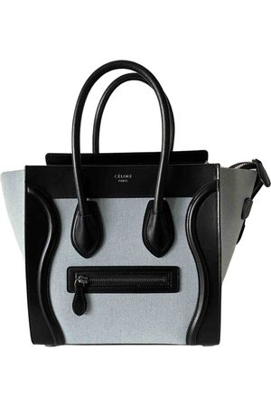 Céline Luggage Cloth Handbag for Women
