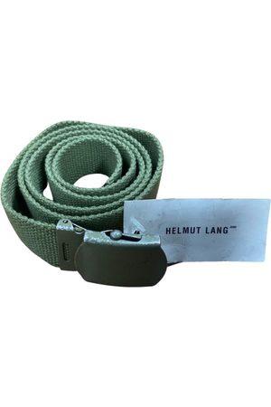 Helmut Lang VINTAGE \N Cloth Belt for Men