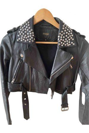 Maje Fall Winter 2019 Leather Jacket for Women