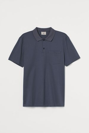 H&M Men Polo Shirts - Premium Cotton Polo Shirt