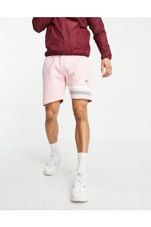 Ellesse Tognazza logo sweatshorts in pink-Blues