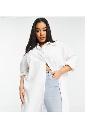 In The Style X Naomi Genes oversized shirt in