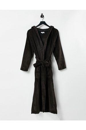 Brave Soul Olivia soft robe in dark
