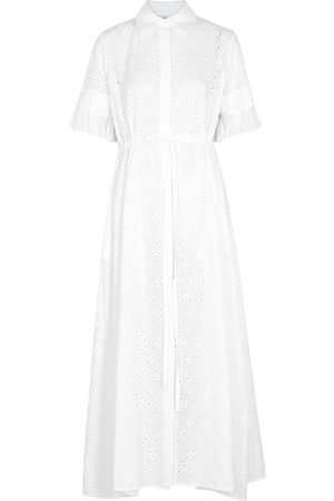 Evi Grintela Broderie anglaise shirt dress
