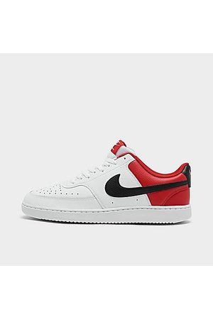 Nike Men's Court Vision Low Casual Shoes in / Size 8.0 Leather