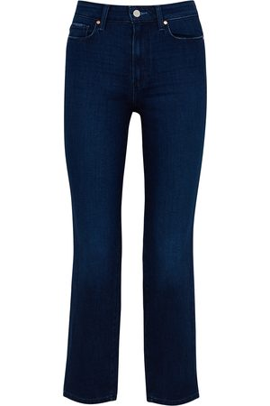 Paige Cindy Transcend dark straight-leg jeans