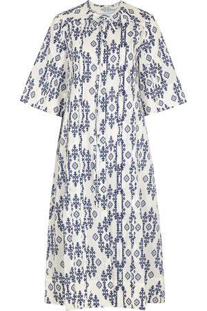 Evi Grintela Printed cotton shirt dress