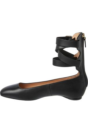 VALENTINO GARAVANI \N Leather Ballet flats for Women