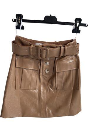 Self-Portrait \N Vegan leather Skirt for Women
