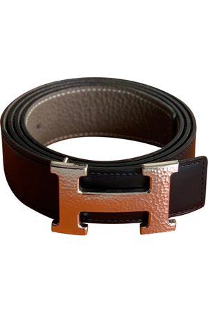 Hermès H Leather Belt for Men