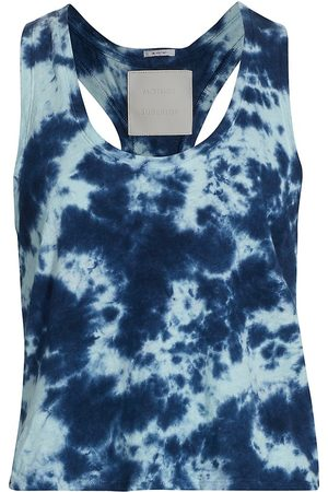 Mother Women's The Breezy Tie-Dye Racerback Tank - Parting The Waters - Size Large