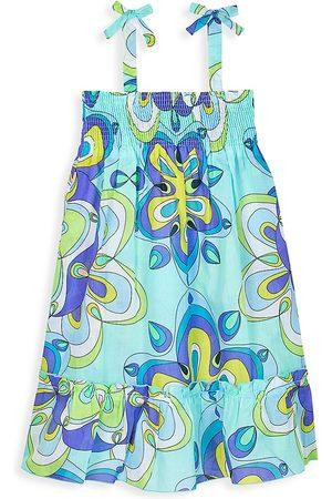 Vilebrequin Little Girl's & Girl's Kaleidoscope Cotton Voile Sundress - Size 2