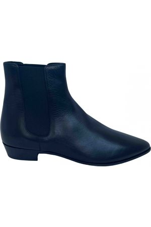 Céline Jacno Leather Boots for Men